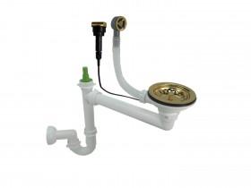 Syfon złoty 1-komorowy automatyczny
