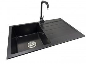 Granite sink one-part ABI + faucet JUPITER