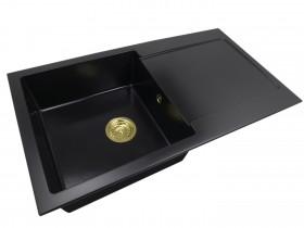 Granite sink one-part DANA +gold trap
